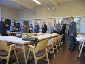 Jubileumsstyrelsemöte med föreningens hedersmedlemmar. 30.9.2009