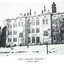 Svenska normallyceum på Bangatan,  Helsingfors