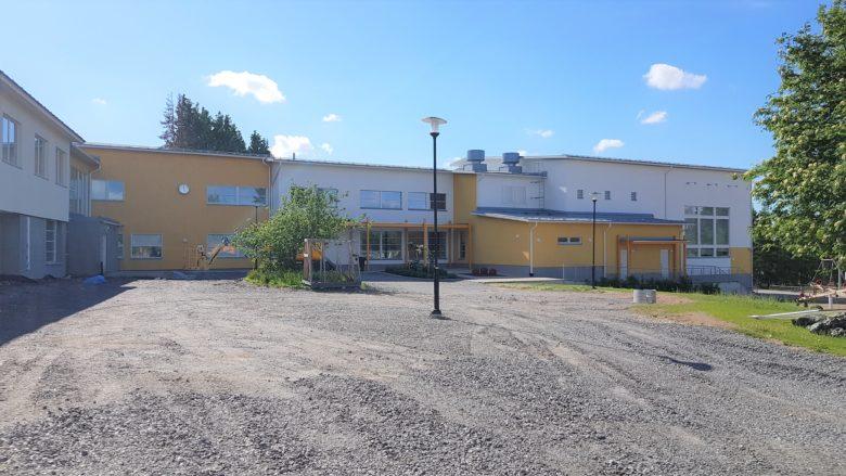 Yttermalax skola, Malax