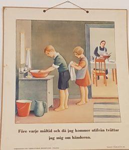 Tvätta händerna!