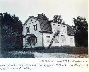 Gammelbacka-Haiko