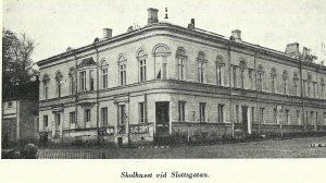 Fruntimmerskolan, Slottsgatan, nÅbo